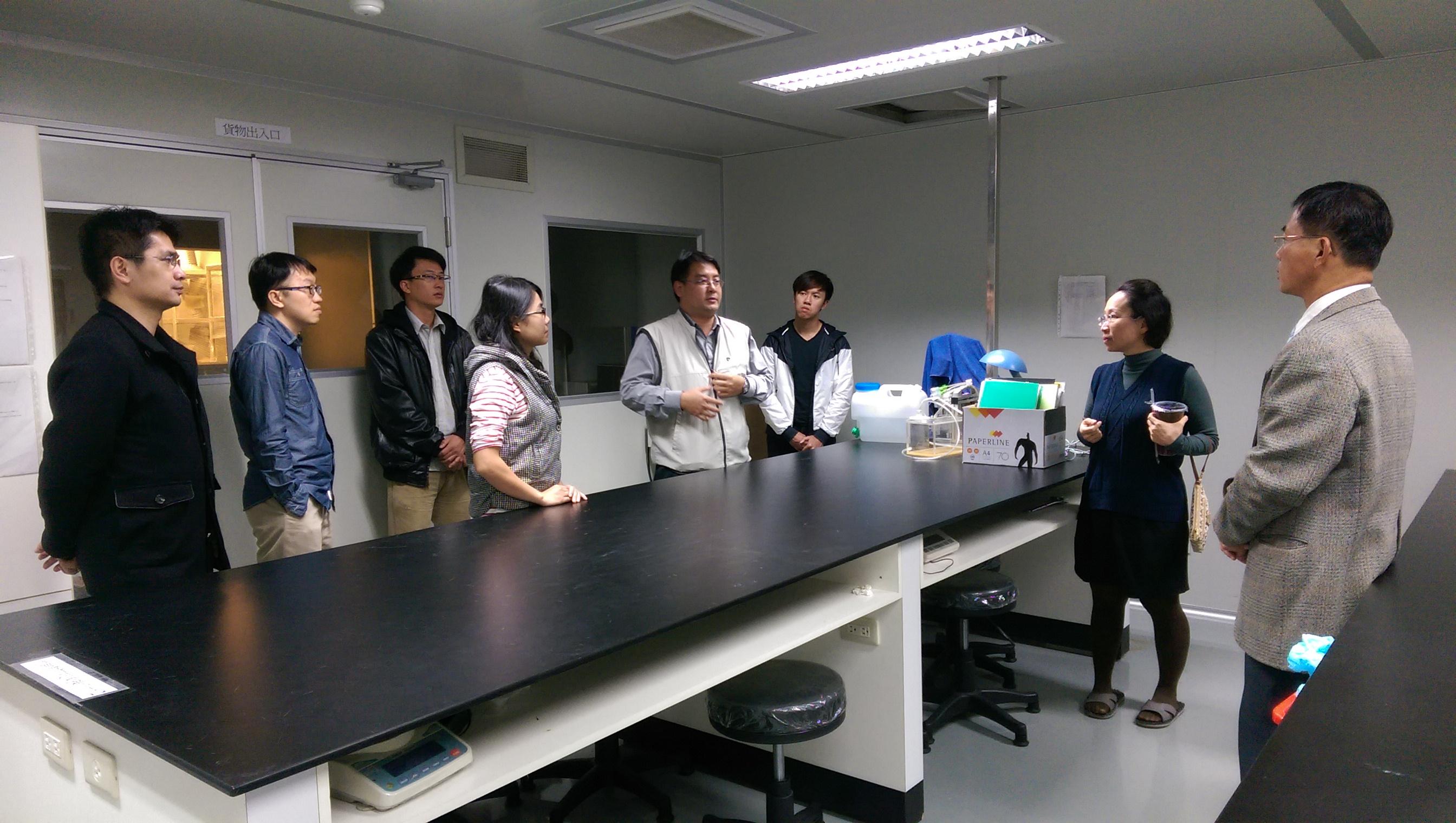 104年12月7日實驗動物操作技術實習教室使用說明會