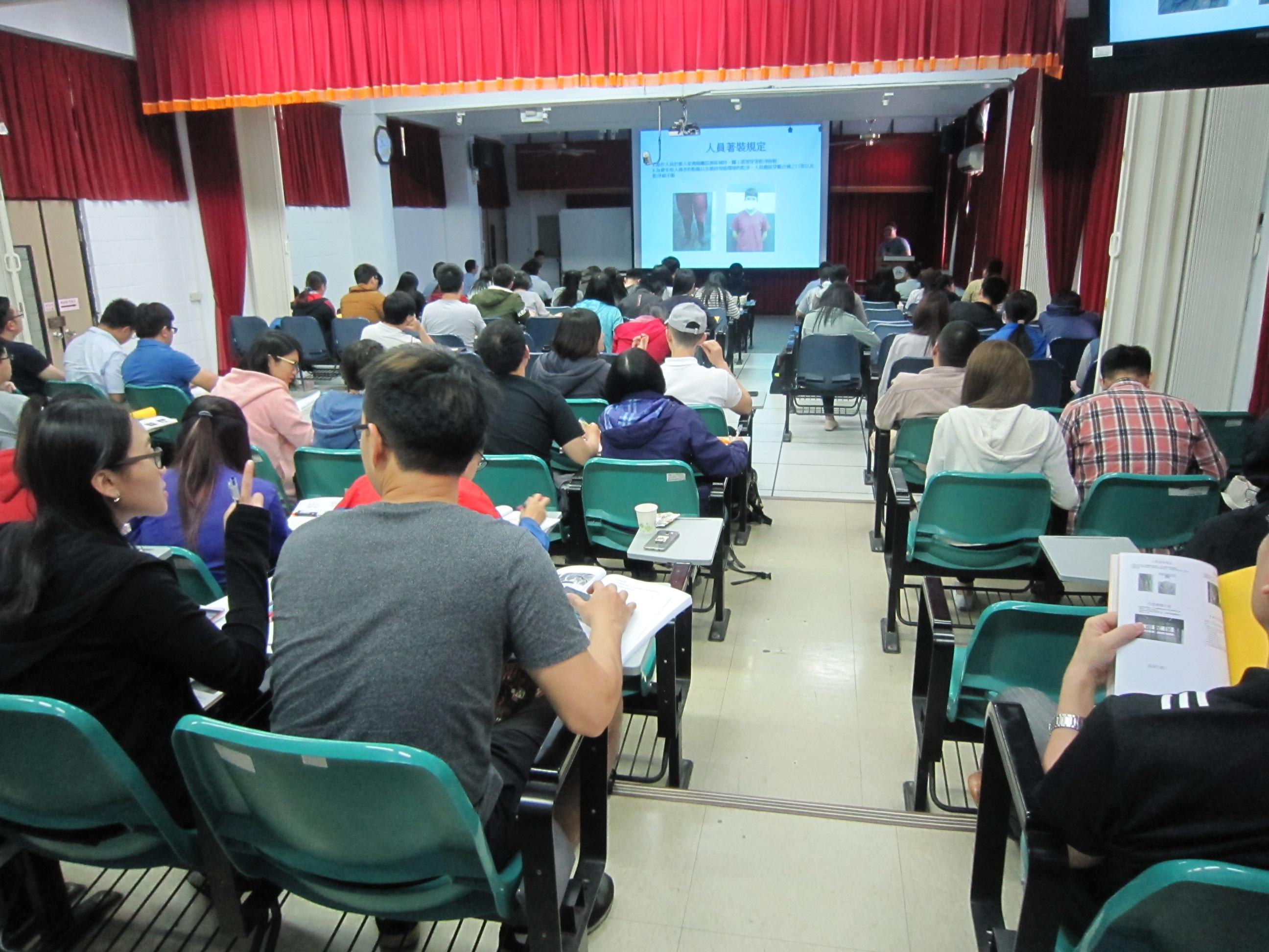 106年4月15日105學年第二學期人道管理訓練課程